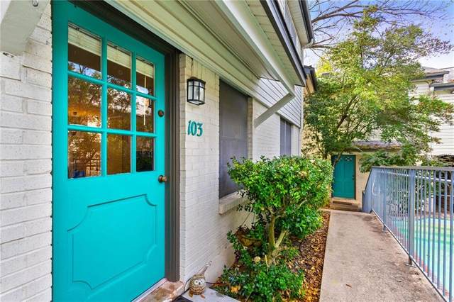 3902 Peterson Ave #103, Austin, TX 78756 (#6702588) :: Zina & Co. Real Estate