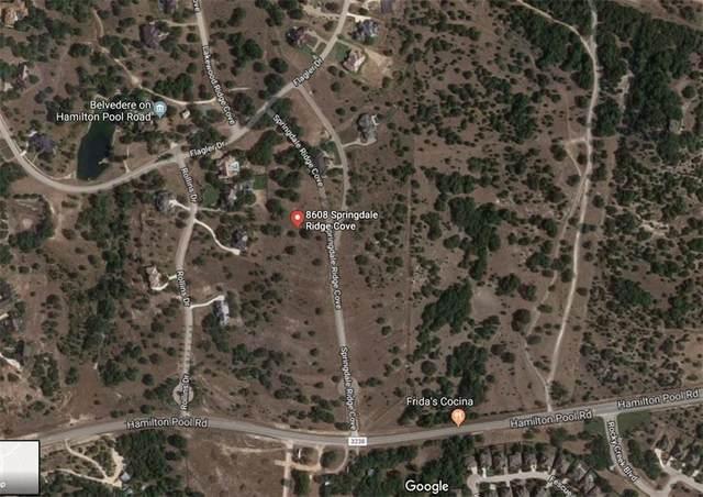 8608 Springdale Ridge Dr, Austin, TX 78738 (#6937303) :: The Heyl Group at Keller Williams