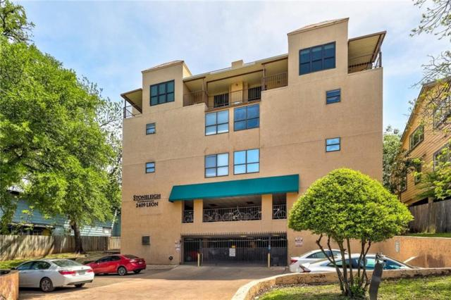 2409 Leon St #202, Austin, TX 78705 (#7207526) :: KW United Group