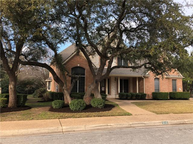 510 Sarazen Loop, Georgetown, TX 78628 (#7657736) :: Ben Kinney Real Estate Team