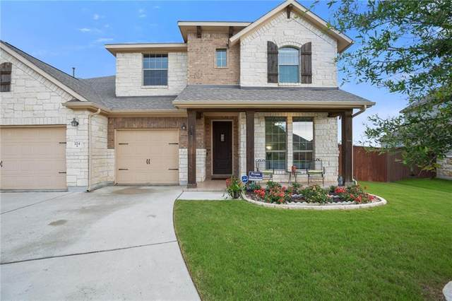 224 Norcia Loop, Liberty Hill, TX 78642 (#7689505) :: The Perry Henderson Group at Berkshire Hathaway Texas Realty