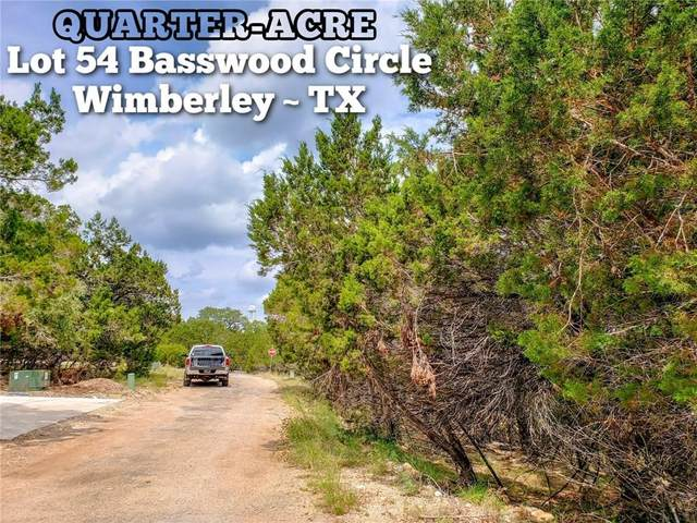Lot 54 Basswood Cir, Wimberley, TX 78676 (MLS #7845601) :: Vista Real Estate