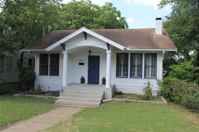 807 W 30th St, Austin, TX 78705 (#8766504) :: Ben Kinney Real Estate Team