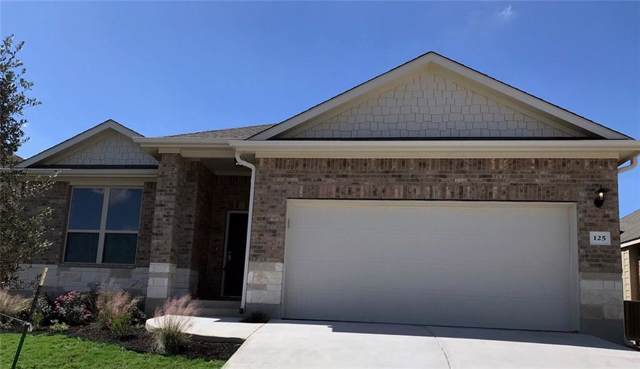 125 Finstown St, Hutto, TX 78634 (#1011892) :: The Heyl Group at Keller Williams