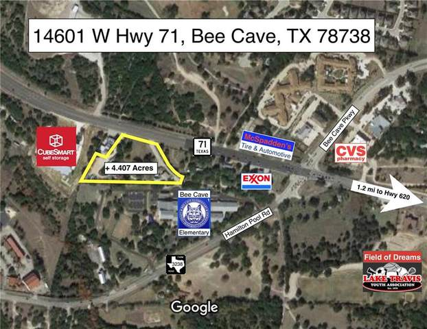 14601 W 71 Highway, Bee Cave, TX 78738 (#3154600) :: Lancashire Group at Keller Williams Realty