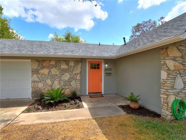 6103 Waycross Dr, Austin, TX 78745 (#3708025) :: Ana Luxury Homes