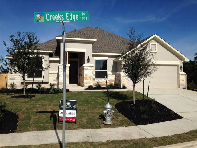 1069 Creeks Edge Vw, Leander, TX 78641 (#5607406) :: Ben Kinney Real Estate Team