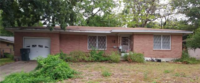 16 E Walker Ave, Temple, TX 76501 (#6493828) :: Lancashire Group at Keller Williams Realty