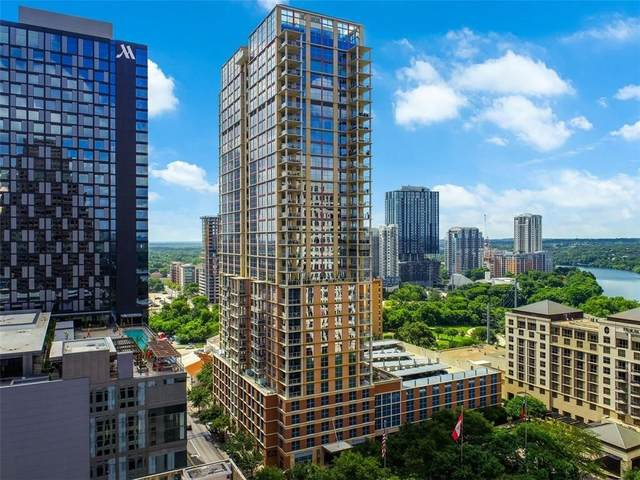 98 San Jacinto Blvd #706, Austin, TX 78701 (#7691303) :: The Perry Henderson Group at Berkshire Hathaway Texas Realty