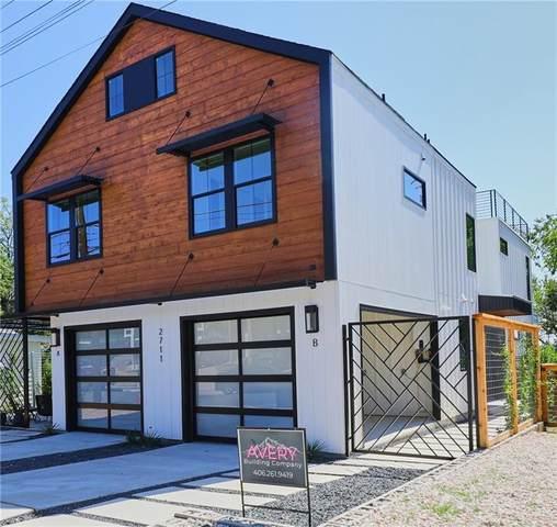 2711 Crest Ave B, Austin, TX 78702 (#7699470) :: Green City Realty