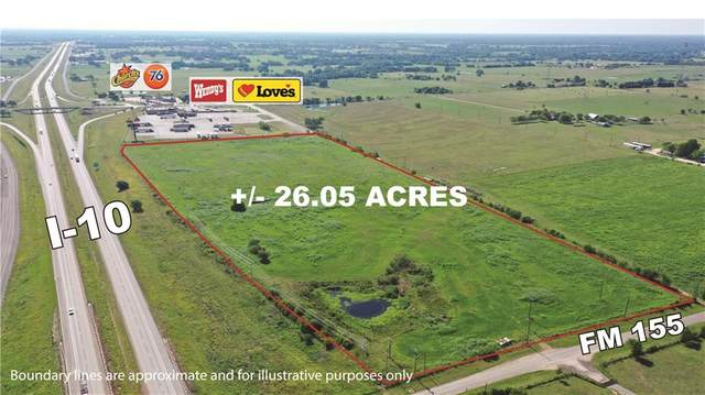 TBD (26 Acres) I-10, Weimar, TX 78962 (#9268432) :: Papasan Real Estate Team @ Keller Williams Realty
