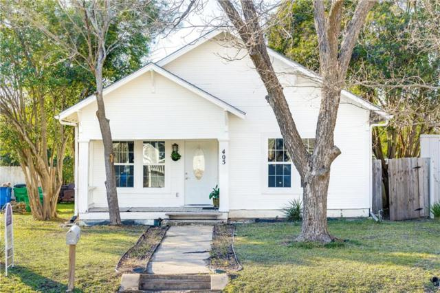 405 Vernon St, Taylor, TX 76574 (#9515071) :: 12 Points Group