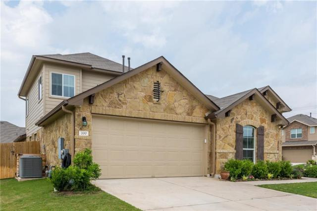 200 Deep Creek Dr, Georgetown, TX 78626 (#3289032) :: Watters International