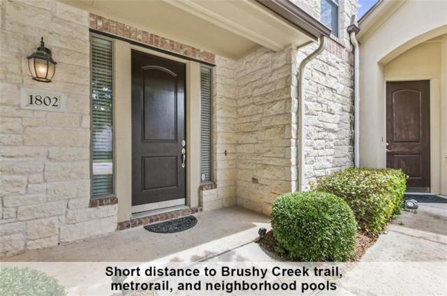 14100 Avery Ranch Blvd #1802, Austin, TX 78717 (#4766650) :: Ana Luxury Homes