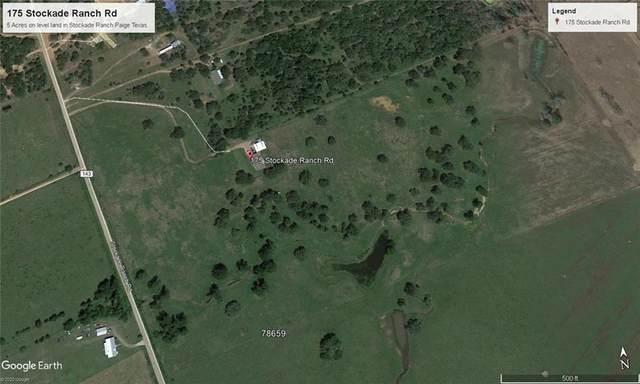 175 Stockade Ranch Rd, Paige, TX 78659 (#6322217) :: Ben Kinney Real Estate Team