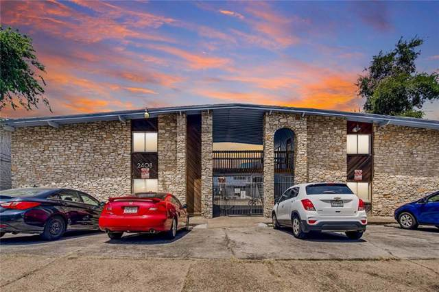 2408 Longview St #107, Austin, TX 78705 (#8100367) :: Ana Luxury Homes
