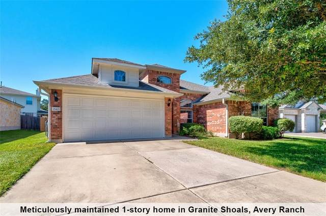 15421 Staked Plains Loop, Austin, TX 78717 (#2853681) :: Green City Realty