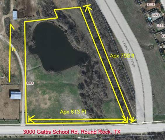 3000 Gattis School Rd, Round Rock, TX 78665 (#4062437) :: Lucido Global