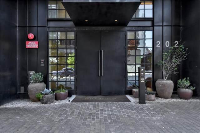202 Nueces #1501, Austin, TX 78701 (MLS #6291378) :: Vista Real Estate