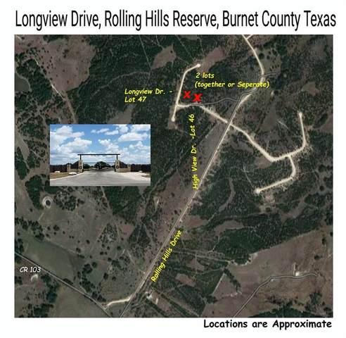 Lot 47 Longview Dr, Lampasas, TX 78611 (MLS #8513622) :: Brautigan Realty