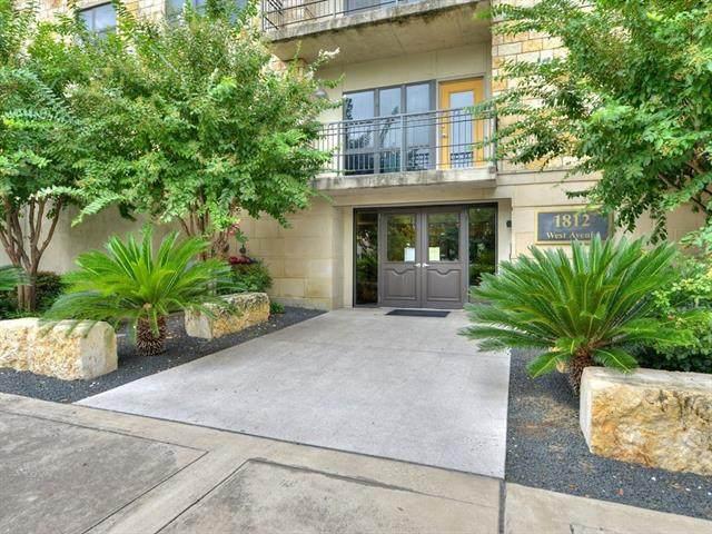 1812 West Ave #506, Austin, TX 78701 (#1534130) :: Ben Kinney Real Estate Team
