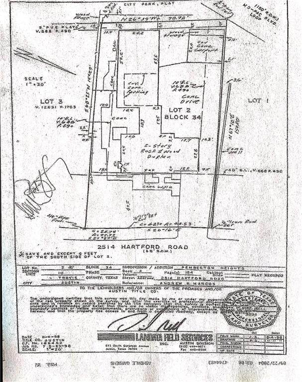 2514 Hartford Rd, Austin, TX 78703 (#1668687) :: Azuri Group | All City Real Estate