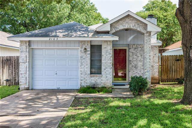 2163 Redwing Way, Round Rock, TX 78664 (#1684715) :: 12 Points Group