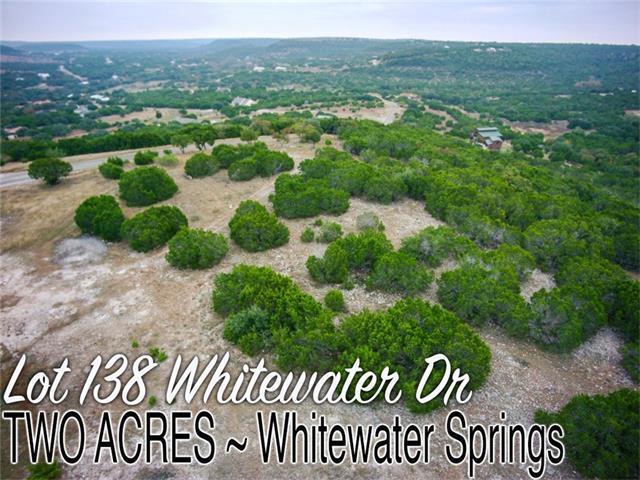 Lot 138 Whitewater Dr, Bertram, TX 78605 (#1836402) :: Van Poole Properties
