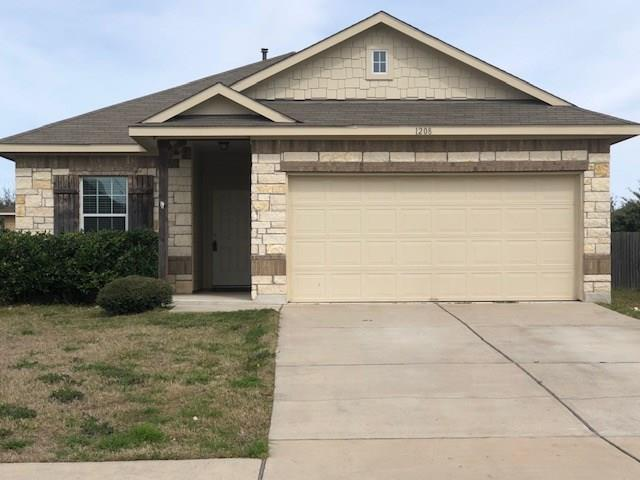 1208 Montell Ln, Hutto, TX 78634 (#1915992) :: Lancashire Group at Keller Williams Realty