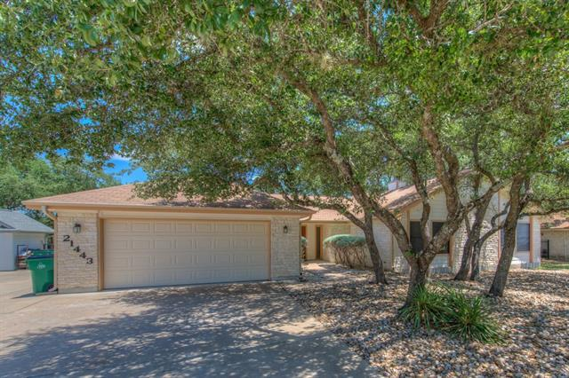 21443 Lakefront Dr, Lago Vista, TX 78645 (#2235756) :: Forte Properties