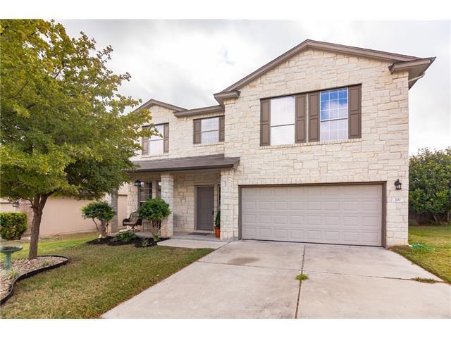 207 Creston St, Hutto, TX 78634 (#2289907) :: Forte Properties