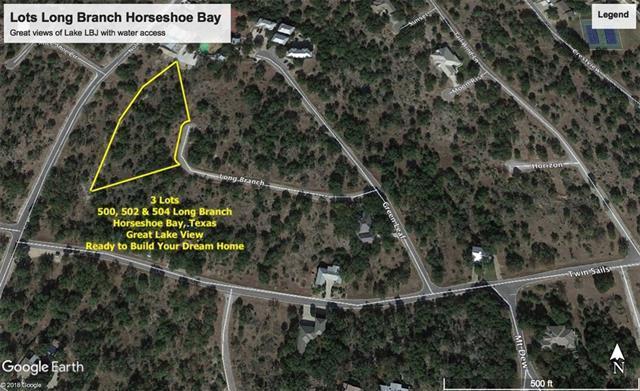 500A Long Branch, Horseshoe Bay, TX 78657 (#2355512) :: The ZinaSells Group
