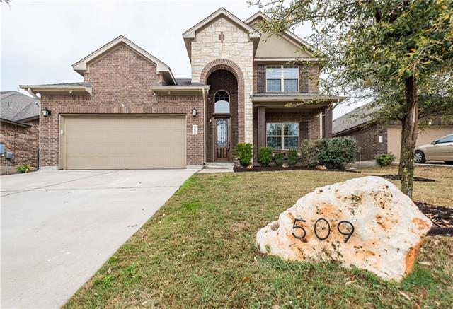 509 Caddo Lake Dr, Georgetown, TX 78628 (#2644638) :: RE/MAX Capital City