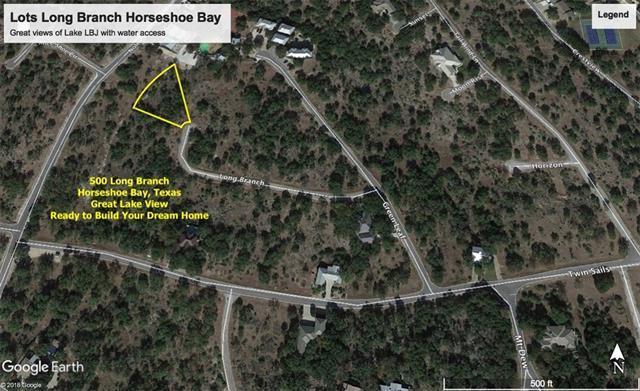 500 Long Branch, Horseshoe Bay, TX 78657 (#2947459) :: The ZinaSells Group