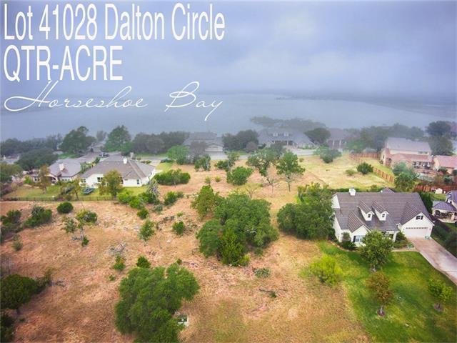 Lot 41028 Dalton Cir, Horseshoe Bay, TX 78657 (#3041121) :: Van Poole Properties