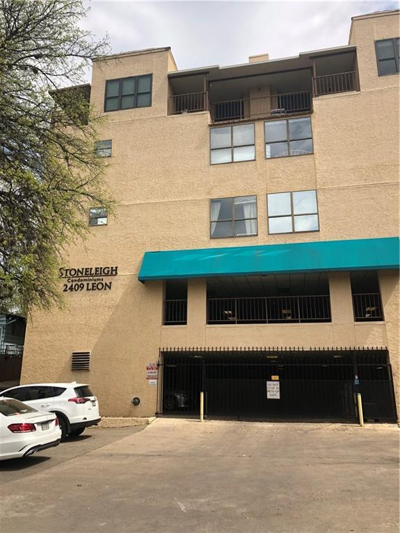 2409 Leon St #102, Austin, TX 78705 (#4036371) :: Ana Luxury Homes