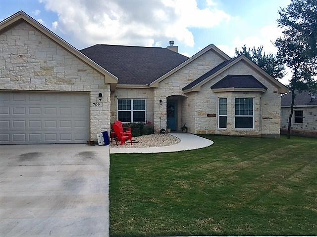 709 Woodland Park Dr, Marble Falls, TX 78654 (#4106120) :: The ZinaSells Group
