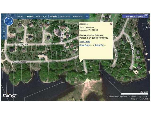 2600 Cody Ave, Lago Vista, TX 78645 (#4461053) :: Forte Properties