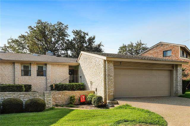 9518 Topridge Dr #7, Austin, TX 78750 (#4678202) :: The Perry Henderson Group at Berkshire Hathaway Texas Realty
