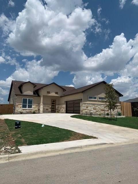 604 Magan Ln, Jarrell, TX 76537 (#4774874) :: The Perry Henderson Group at Berkshire Hathaway Texas Realty