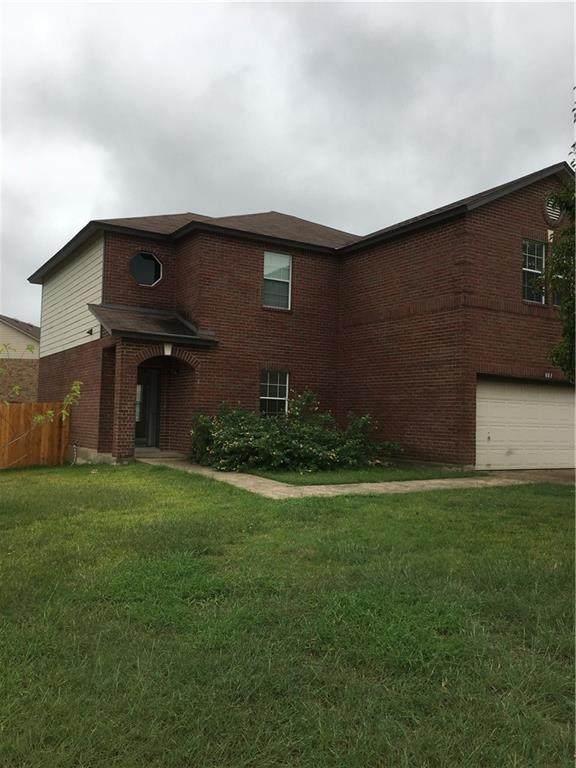 801 Cisco Valley Cv, Round Rock, TX 78664 (MLS #4928427) :: Vista Real Estate