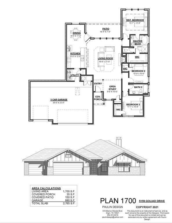 5159 Goliad Dr, Temple, TX 76502 (#5498218) :: Papasan Real Estate Team @ Keller Williams Realty