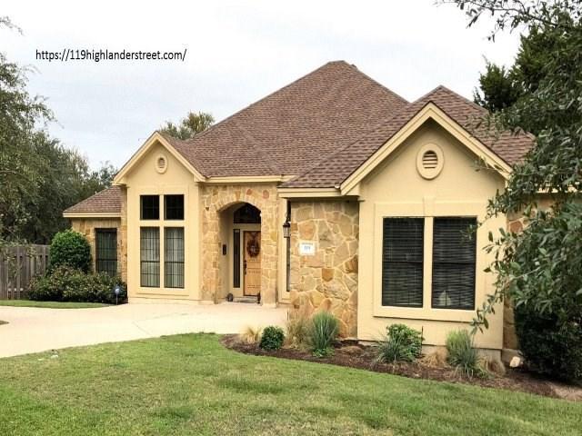 119 Highlander St, Lakeway, TX 78734 (#5563689) :: Watters International