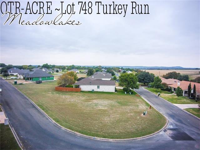 Lot 748 Turkey Run, Meadowlakes, TX 78654 (#5917771) :: Van Poole Properties