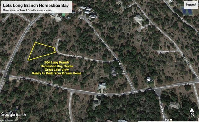 504 Long Branch, Horseshoe Bay, TX 78657 (#6566171) :: The ZinaSells Group