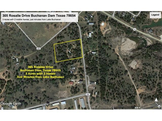 305 Roselea Dr, Buchanan Dam, TX 78609 (#7009191) :: The ZinaSells Group