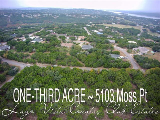 5103 Moss Pt, Lago Vista, TX 78645 (#7216225) :: Van Poole Properties