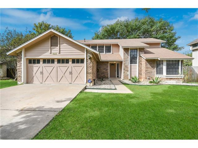 405 Cedar Mound Pass, Cedar Park, TX 78613 (#7232157) :: The ZinaSells Group
