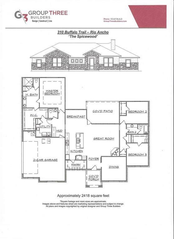 310 Buffalo Trl, Liberty Hill, TX 78642 (#7634216) :: Papasan Real Estate Team @ Keller Williams Realty