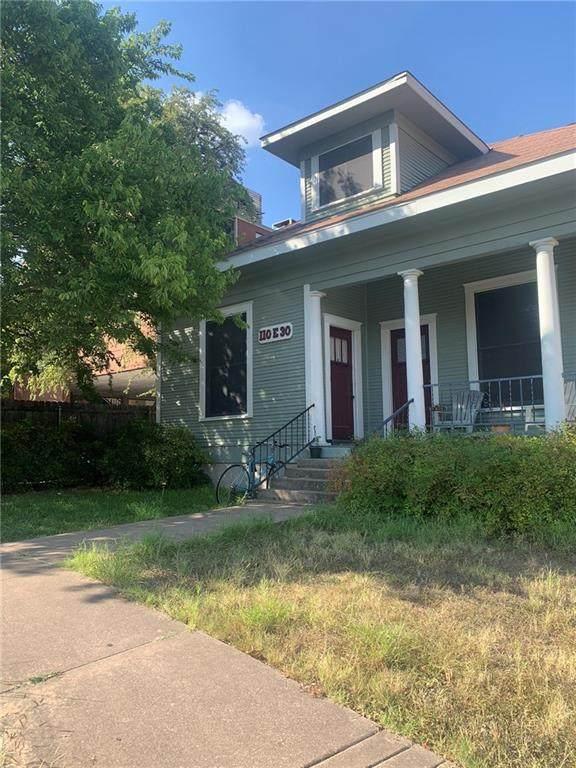 110 E 30th St, Austin, TX 78705 (#7652296) :: All City Real Estate
